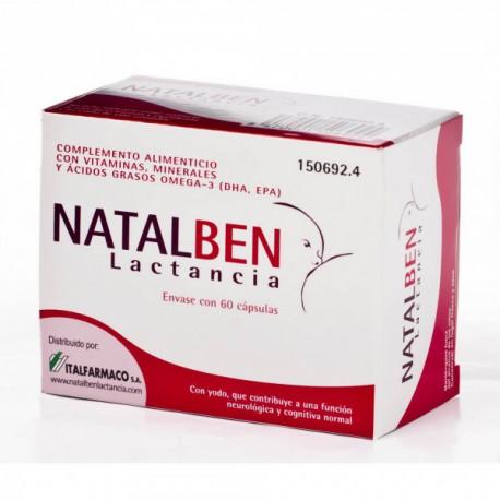 Natalben Lactancia - (60 Caps)