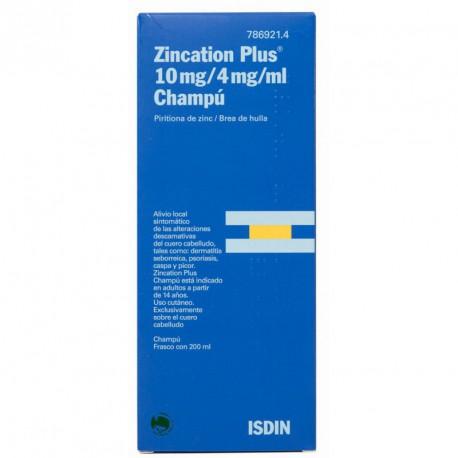 ISDIN zincation plus champu 200 Ml