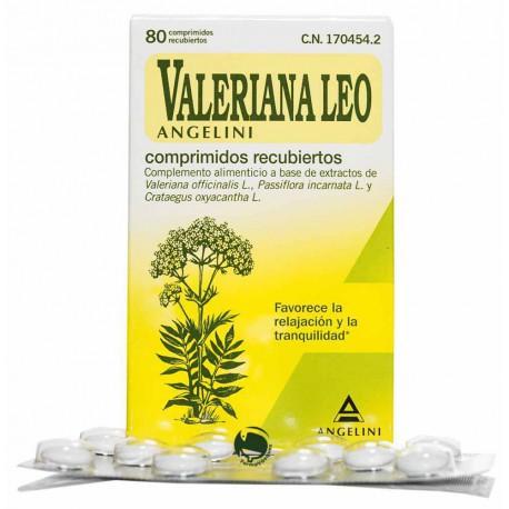 Valeriana Leo Angelini - (80 Comprimidos)