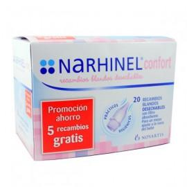 Narhinel Confort Aspirador Recambio - (20 Blando Desechable)