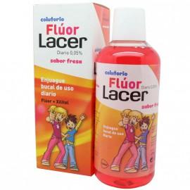 Lacer Colutorio Fluor Diario 0,05 % - (fresa 500 Ml)